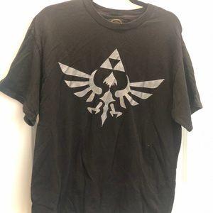 The legend of Zelda men's black shirt